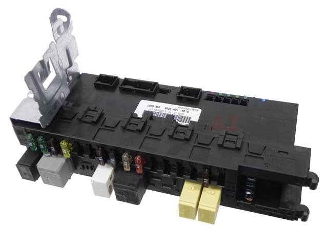 2035454701 Genuine Mercedes Fuse Box; SAM/SRB: Signal Acquisition Module with Rear Fuse and Relay Panel; Trunk Left; Factory Rebuilt