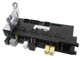 2035454701 Genuine Mercedes Fuse Box; SAM/SRB: Signal Acquisition Module with Rear Fuse and Relay Panel; Trunk Left