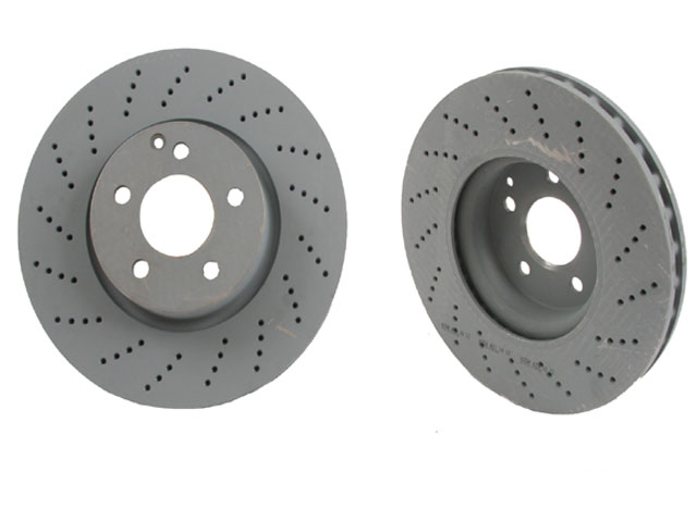 2044211012OE Genuine Mercedes Disc Brake Rotor; Front