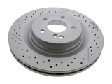 2044230412 Genuine Mercedes Disc Brake Rotor; Rear