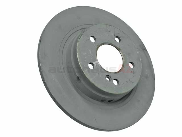 One New Genuine Disc Brake Rotor Rear 2044231512 2044230612 for Mercedes MB