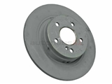 2044231512 Genuine Mercedes Disc Brake Rotor; Rear ; Solid