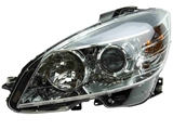 2048208761 Genuine Mercedes Headlight Assembly; Left; Halogen