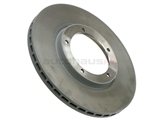 205186 Sebro Coated Disc Brake Rotor; Front