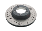205841C Sebro Coated Disc Brake Rotor; Front Left