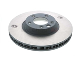 205869C Sebro Coated Disc Brake Rotor; Front Left