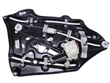 2096700203 Genuine Mercedes Window Regulator; Rear Right; With Motor