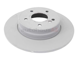 2104230612 Genuine Mercedes Disc Brake Rotor; Rear; Solid 290x10mm