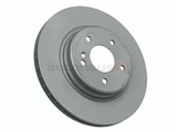 2104230812 Zimmermann Coat Z Disc Brake Rotor; Rear ; Vented 300mm