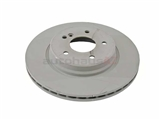 2104230812OE Genuine Mercedes Disc Brake Rotor; Rear; 300mm
