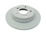 2104230912 Genuine Mercedes Disc Brake Rotor; Rear
