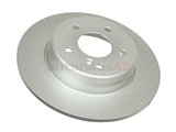 2104231012 ATE Coated Disc Brake Rotor; Rear; Solid 290x10mm