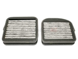 2108300218 Mahle Cabin Air Filter Set; With Activated Charcoal; At Blower Case Side; SET of 2