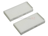 2108301018 Corteco Cabin Air Filter Set; Top of Heater Case; SET of 2