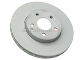2114210812 Zimmermann Coat Z Disc Brake Rotor; Front; Vented 295x28mm