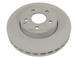2114210812OE Genuine Mercedes Disc Brake Rotor; Front; Vented 295x28mm