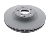2114211412 Genuine Mercedes Disc Brake Rotor; Front