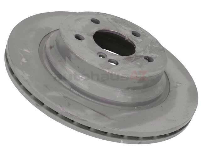 2114230912OE Genuine Mercedes Disc Brake Rotor; Rear; Vented; 300x22