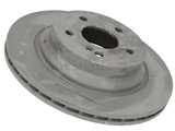 2114230912 Genuine Mercedes Disc Brake Rotor; Rear; Vented; 300x22