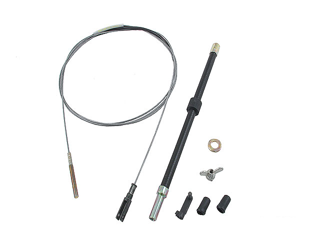 211798335 Gemo Clutch Cable; Cable and Bowden Tube Kit; 307mm