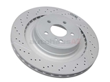 2124230412 Genuine Mercedes Disc Brake Rotor; Rear