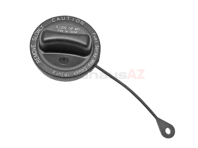 2154700105 Genuine Mercedes Fuel/Gas Cap; With Lanyard
