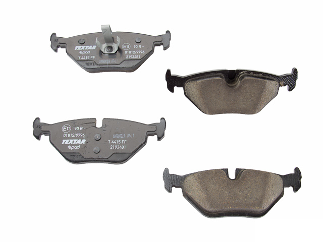 2193481 Textar Epad Ceramic Brake Pad Set