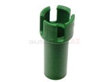 2222710097 Genuine Mercedes Auto Trans Drain Plug; Guide Tube Inside Pan