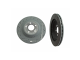 2224200672 Genuine Mercedes Disc Brake Rotor; Rear