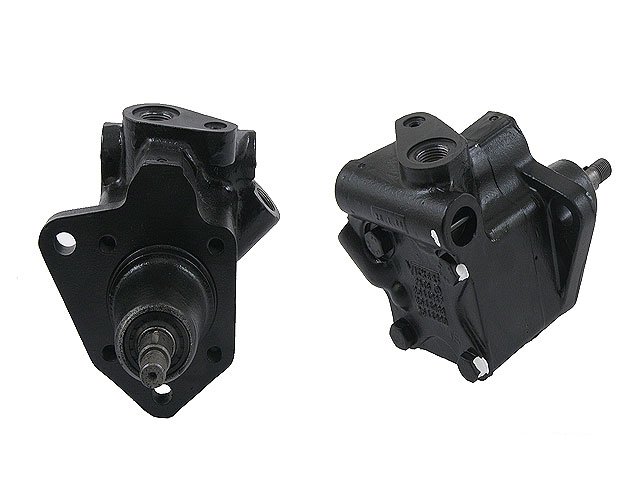 224526127 C & M Hydraulics (OE Rebuilt) Power Steering Pump; With Cylindrical (Straight) Output Shaft