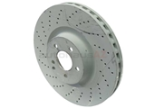 2304210712OE Genuine Mercedes Disc Brake Rotor; Front
