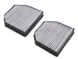 2308300418 Corteco-Micronair Cabin Air Filter Set; With Activated Charcoal; SET of 2