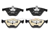 2331207 Textar Brake Pad Set; Front
