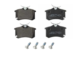 235541701 Zimmermann Brake Pad Set; Rear