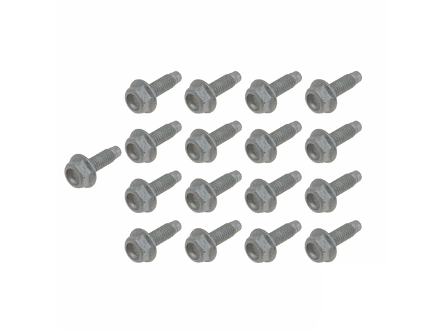 24117581606 Genuine Auto Trans Oil Pan Bolt Set; M6x19mm