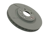 2464212612 Genuine Mercedes Disc Brake Rotor; Front