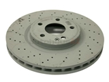 2464212712 Genuine Mercedes Disc Brake Rotor; Front