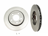 25707 Brembo Disc Brake Rotor; Rear