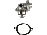2722000615 Genuine Mercedes Thermostat; With Housing and Gasket; 100 Degree C