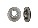 275817 Sebro Sport Drilled Disc Brake Rotor Set