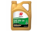 3001009295300C020 Idemitsu Engine Oil; 0W-20 Full Synthetic, SN/GF5; 5 Quart Container