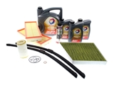 30KSERVICEMB4 AAZ Preferred Oil Filter Kit; 30K Service