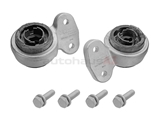 31126757623MY Meyle HD Control Arm Bushing Kit; Heavy Duty, Front Lower; Bushing Set with Brackets