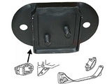 311301265B RPM Manual Trans Transmission Mount; Front