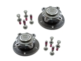 31216765157KIT AAZ Preferred Axle Bearing and Hub Assembly; Front Left and Right Assemblies with Bolts; KIT