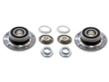 31226757024KIT AAZ Preferred Wheel Bearing and Hub Assembly; Front Left and Right Assemblies, Seals, Caps, Axle Nuts ; KIT