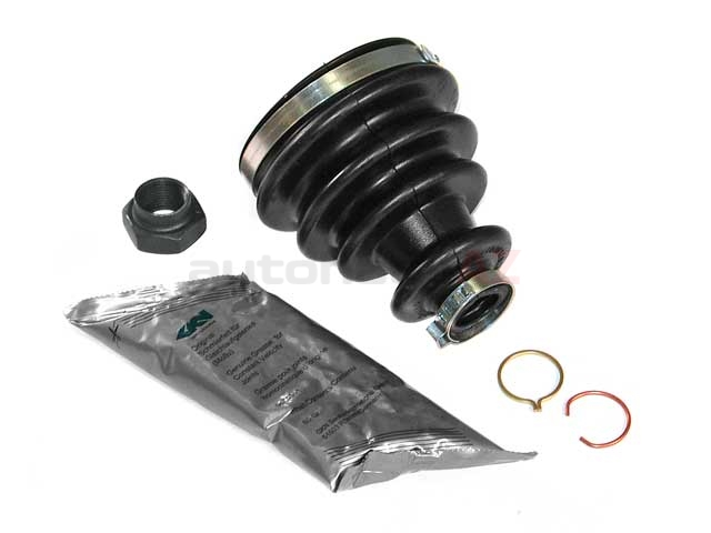 31601226155 GKN Loebro CV Joint Boot Kit; Front Outer