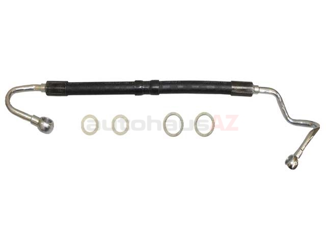 rein automotive 32411093461  psh0117p power steering pressure line hose assembly  power steering