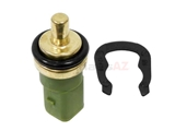32510 Febi-Bilstein Coolant Temperature Sensor; In Water Pipe; Green with 4 Pin Connector; 20mm Clip In Style