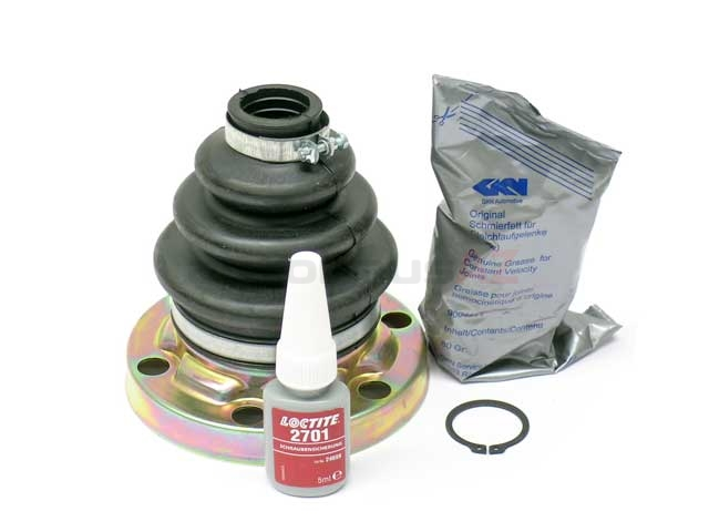 33211229435 GKN Loebro CV Joint Boot Kit; Rear Inner